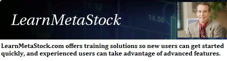 Learn Metastock - Novice and Seasoned Traders